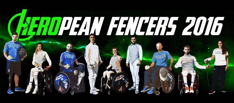 Heropean Fencers 2016 at Casale Monferrato