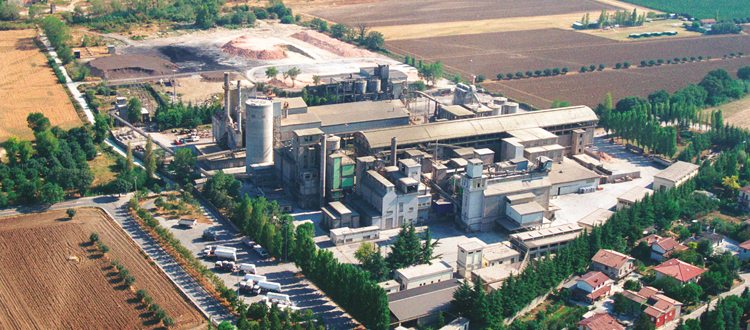 The Santarcangelo plant ceases production activities