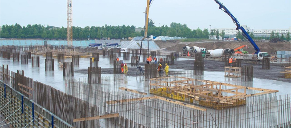 New Galeazzi Orthopedic Institute: the largest continuous concrete casting in Europe